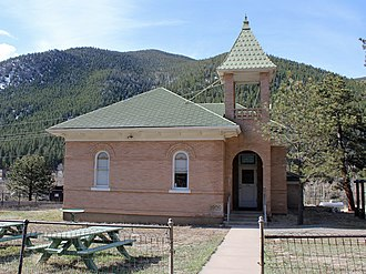 National Register of Historic Places listings in Clear Creek County, Colorado - Image: Dumont School