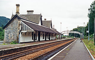 Dunkeld & Birnam railway station railway station serving the towns of Dunkeld and Birnam in Perth and Kinross, Scotland
