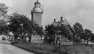 Dunkirk, New York - Point Gratiot Lighthouse