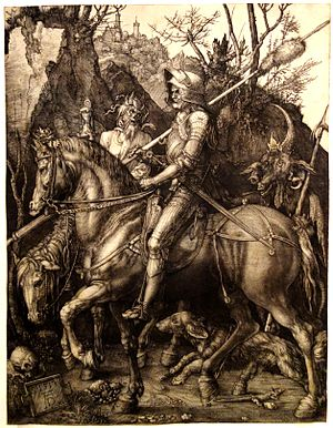 1513 in art - Dürer – Knight, Death and the Devil