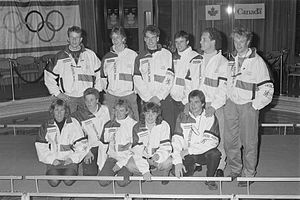 Netherlands at the 1988 Winter Olympics - The Dutch speedskating Olympic team