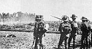 Dutch troops in Bali 1906