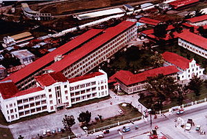 Divine Word University of Tacloban - Aerial view of Liceo del Verbo Divino, Tacloban City, Philippines