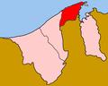 Dystrykty Brunei Brunei i Muara.PNG
