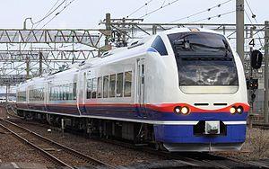 Echigo Tokimeki Railway - Image: E653 1100 H202 20150302