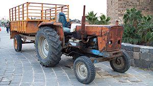 Ebro trucks - Image: EBRO 470 tractor in Syria