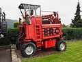 ERO Grape-vine portal tractor - straddle tractor at the Moselle, pic1.JPG