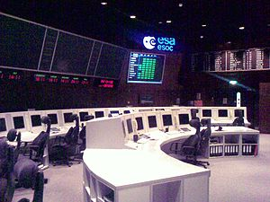 ESOC's Control Room