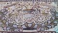 Early Byzantine (6th century) mosaic floor in the Great Basilica, conceived as a single field representing the Heavens (paradeisos), Heraclea Lyncestis, Republic of Macedonia (7451391578) (3).jpg