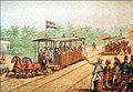 Early Tram of Batavia operates by Nederlands-Indische Tramweg Maatschappij, 1881.jpg