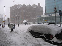 East Village in 2006 blizzard 08.jpg