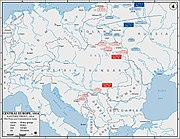 The Eastern Front, as it was in 1914