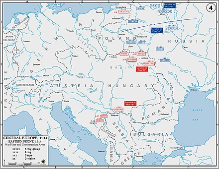 Ostfront (Erster Weltkrieg) – Wikipedia
