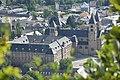 Echternach St Wilibrordus church and Lycée 2019-08.jpg