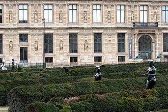 École du Louvre - The Aile de Flore, the Ecole du Louvre's frontage.