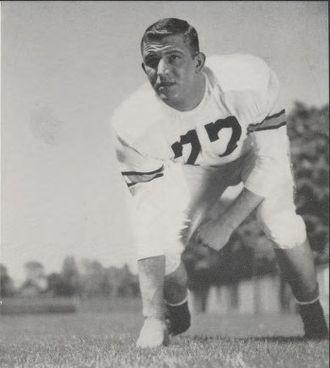 Ed Voytek - Voytek from 1955 Purdue yearbook