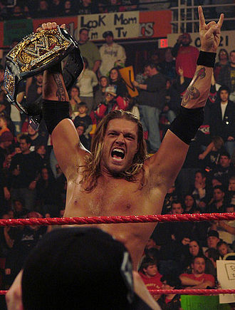 Royal Rumble (2006) - Edge as WWE Champion.