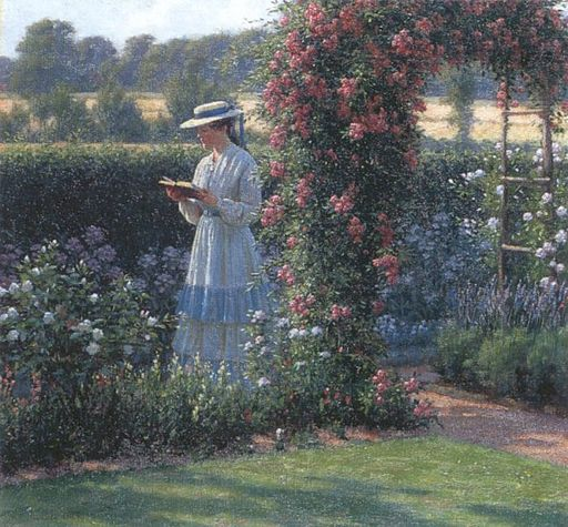 Edmund Blair Leighton - Sweet solitude