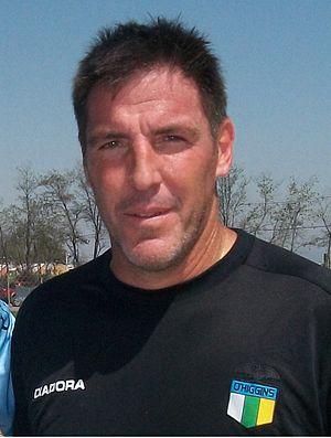 Eduardo Berizzo - Berizzo as O'Higgins manager in October 2012