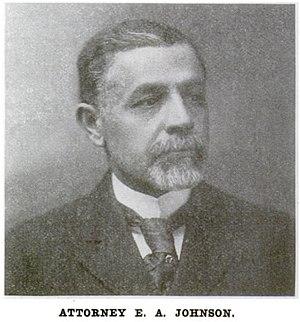 Edward A. Johnson - Image: Edward Austin Johnson