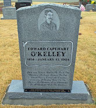 Edward Capehart O'Kelley - O'Kelley Memorial - Front