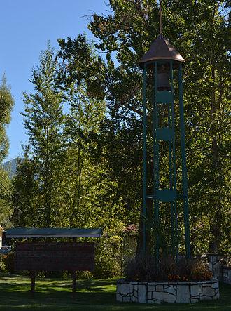 Cushing Eells - Eells Bell, Chewelah, Washington