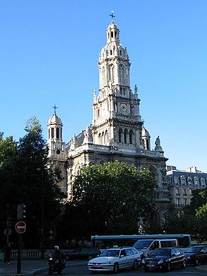 Trinité – d'Estienne d'Orves (Paris Métro) - Trinité church