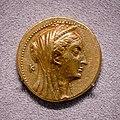 Egypt - queen Arsinoe II - 253-246 BC - gold oktadrachm - head of Arsinoe II - double cornucopiae - Berlin MK AM.jpg
