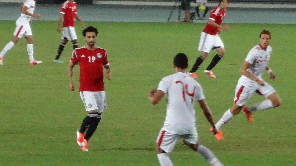 Egypt against Tunisia 2012