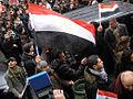 Egypt solidarity protest in Paris, 29 January 2011 008.jpg