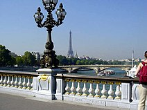 Eiffel Tower from Pont Alexandre-III, Paris 2004.jpg