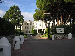 Hotel du Cap - Entrance to Hôtel du Cap-Eden-Roc