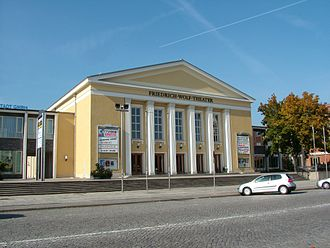 Eisenhüttenstadt - The Friedrich-Wolf-Theater, opened in 1955