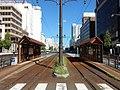 Ekimae-Odori Tram Stop (2017-09-18) 2.jpg