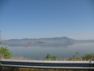 Cuitzeo - View of Lake Cuitzeo