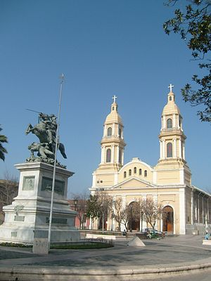 O'Higgins Region - Cathedral at Plaza de los Heroes