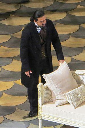 Elchin Azizov - Azizov as Giorgio Germont, La traviata. Bolshoi Theater, 2013