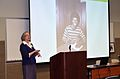 """Electronic Records Conference, November 3-4, 2011 at the McKimmon Center in Raleigh, NC. """"Trial and Error- Do's and Don'ts for Funding Public Library Digital Projects""""- Jane Blackburn, Director, (6331760920).jpg"""