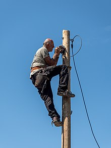 Lectricien wikip dia - Outillage d un electricien ...