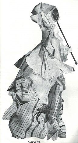 Elena Mannini - Costume per la Trilogia della villeggiatura, Teatro Carré, Amsterdam 1993