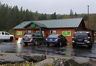 Elevation (cannabis shop) Store in Kamilche, Washington