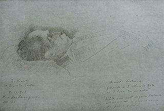Presidente Manoel Victorino em seu leito de morte