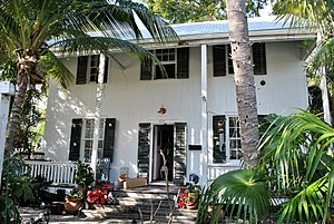 Elizabeth Bishop - Elizabeth Bishop House, Key West, Florida