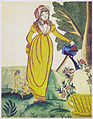 Elizabeth Glaser, Lady in Yellow Dress Watering Rose, ca. 1830.jpg