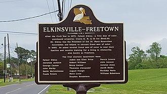 St. Rose, Louisiana - Image: Elkinsville Freetown (Saint Rose, Louisiana)