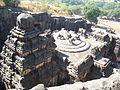 Ellora , Kailas mandir from top ,Aurangabad,India.jpg