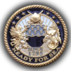 Embleholics Supply Corps Custom Challenge Coin Front Side.png