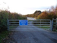 Emergency access - geograph.org.uk - 74698.jpg