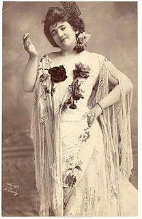 Emma Calvé French operatic soprano (1858-1942)