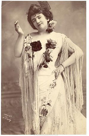 Emma Calvé - Emma Calvé as Carmen